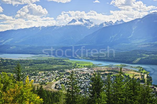 View of Revelstoke in British Columbia, Canada Stock photo © elenaphoto