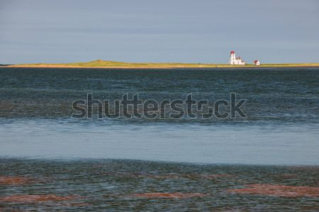Paisagem farol oceano Canadá natureza Foto stock © elenaphoto