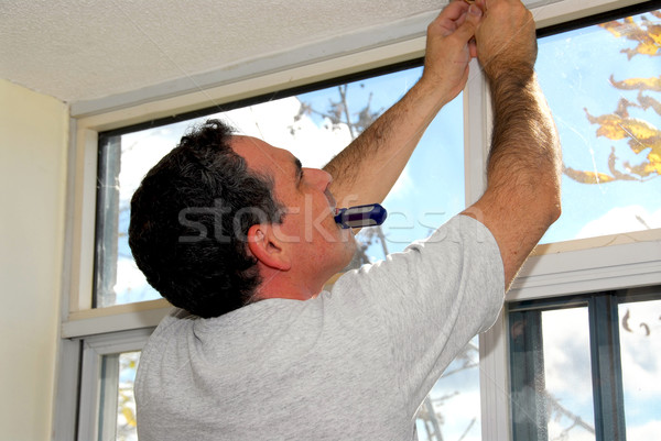 Handyman Stock photo © elenaphoto