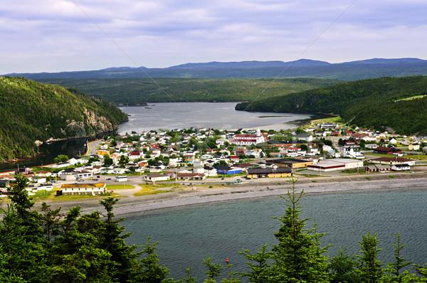町 ニューファンドランド島 景観 カナダ 森林 自然 ストックフォト © elenaphoto