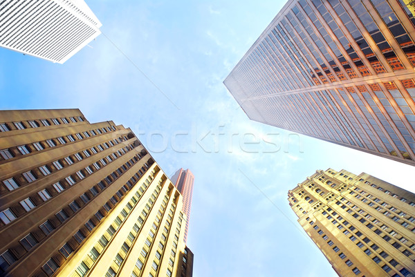 Corporate buildings Stock photo © elenaphoto