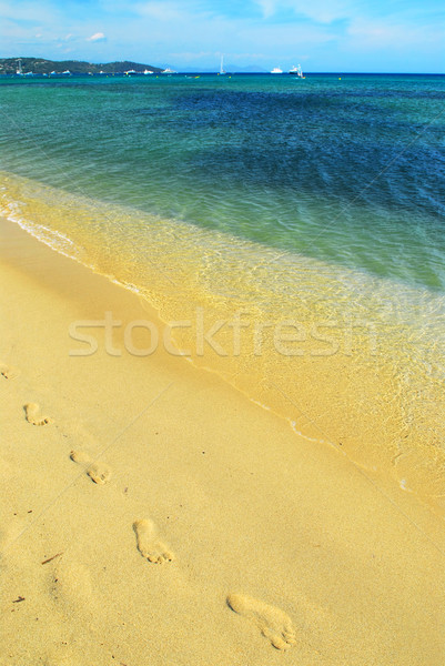 Mediterranean beach Stock photo © elenaphoto
