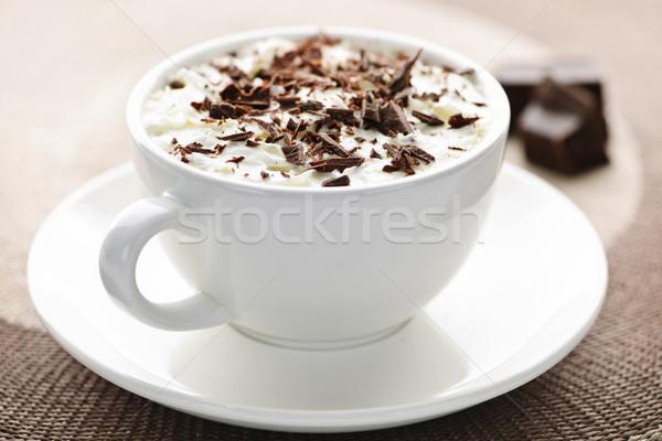 Hot chocolate Stock photo © elenaphoto