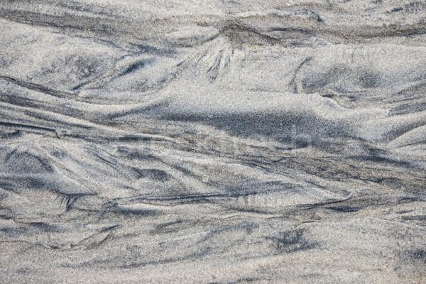 Pattern in wet sand Stock photo © elenaphoto