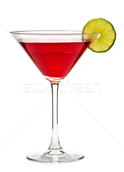 Cosmopolitan cocktail drink Stock photo © elenaphoto