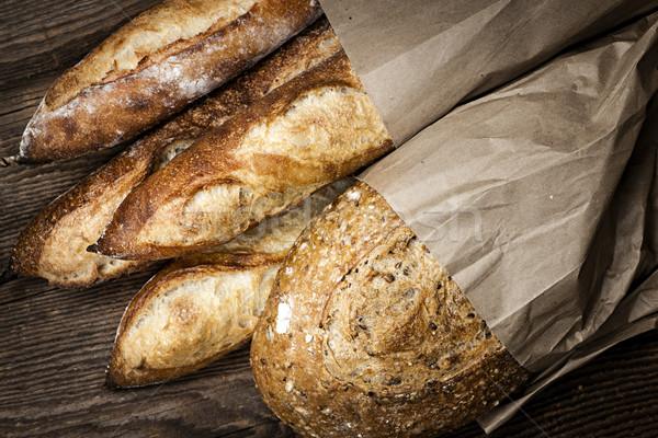 Artisan bread Stock photo © elenaphoto