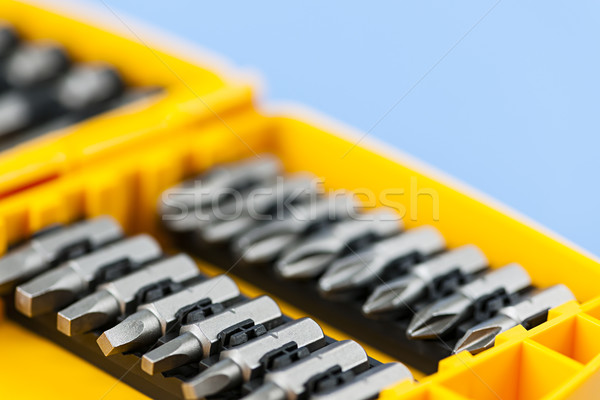 Screwdriver insert bits Stock photo © elenaphoto