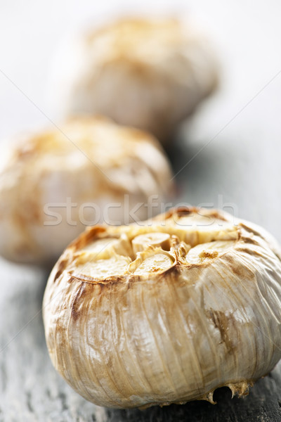 Foto stock: Alho · fresco · comida · legumes