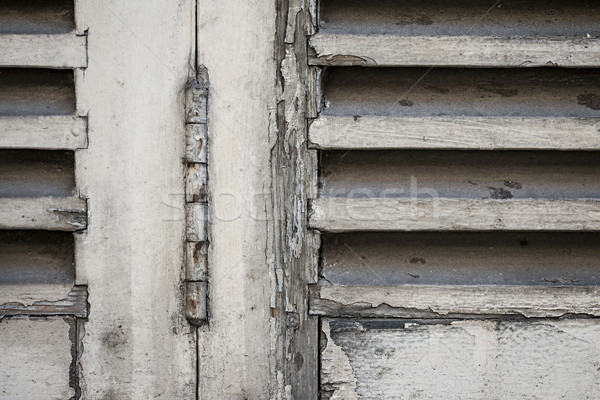 Old shutters Stock photo © elenaphoto