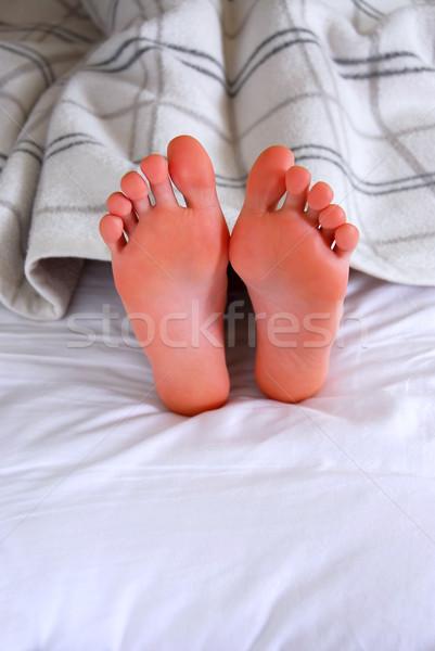 Child's feet Stock photo © elenaphoto