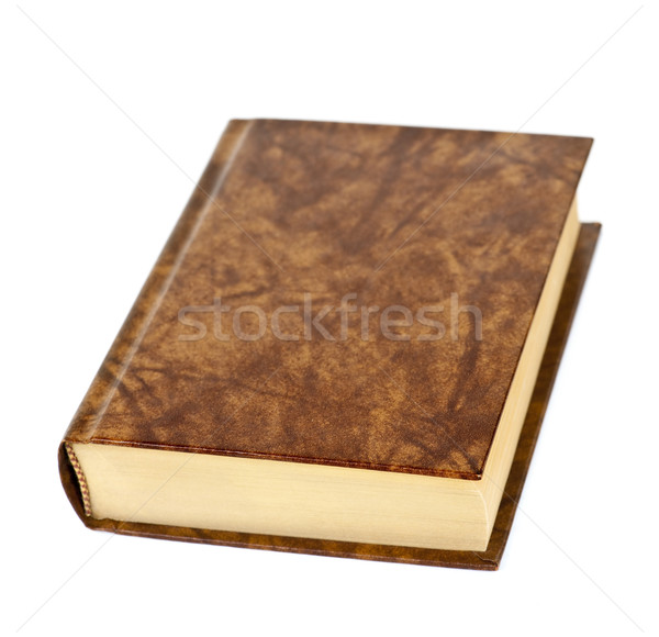 Blank hardcover book Stock photo © elenaphoto