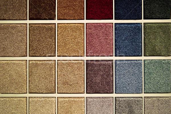 Carpet samples Stock photo © elenaphoto