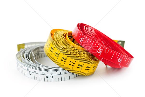 Measuring tapes Stock photo © elenaphoto