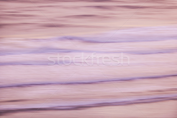 Foto stock: Nascer · do · sol · ondas · oceano · abstrato · Flórida