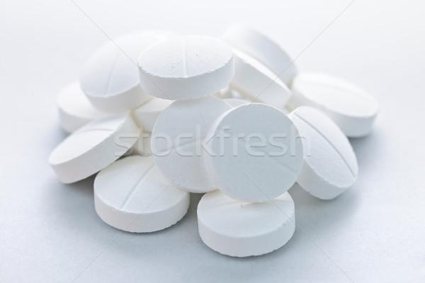 Calcium pilules santé Photo stock © elenaphoto