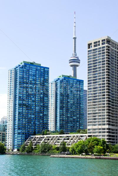 Toronto horizonte puerto torre negocios viaje Foto stock © elenaphoto