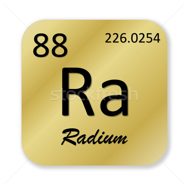 Radium element Stock photo © Elenarts