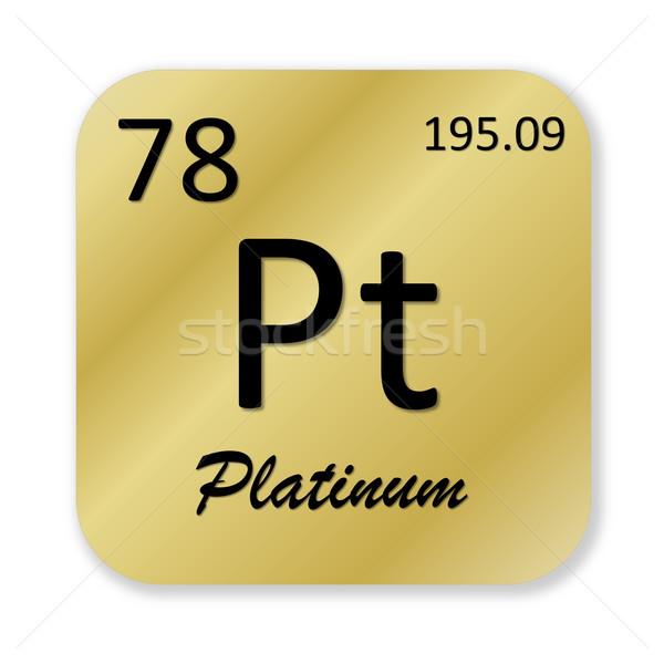 Stock fotó: Platina · alkotóelem · fekete · arany · tér · forma