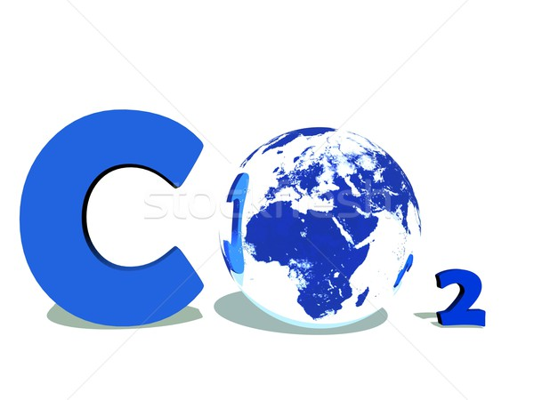 Carbon dioxyde Stock photo © Elenarts