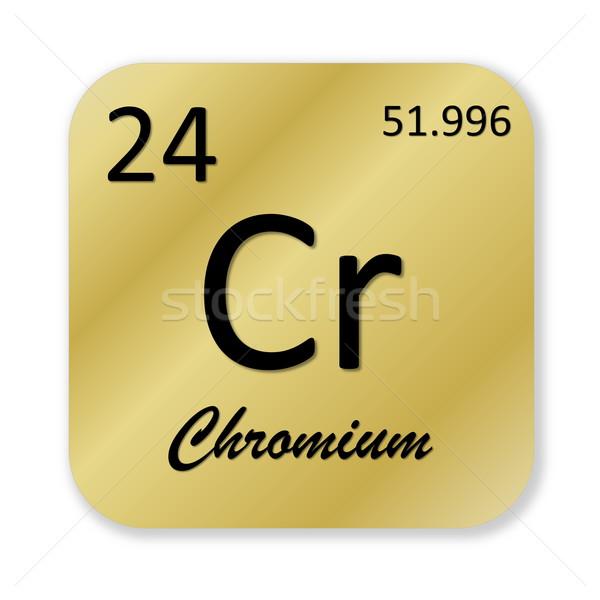 Chromium element Stock photo © Elenarts
