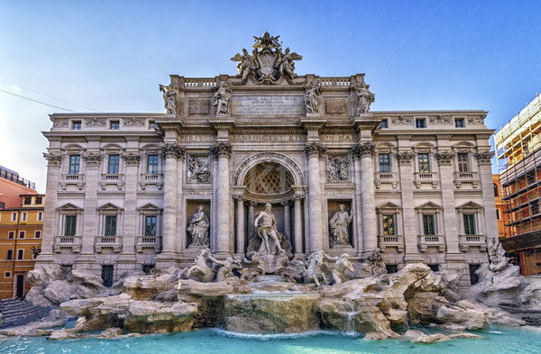 Trevi fountain, Roma, Italy Stock photo © Elenarts