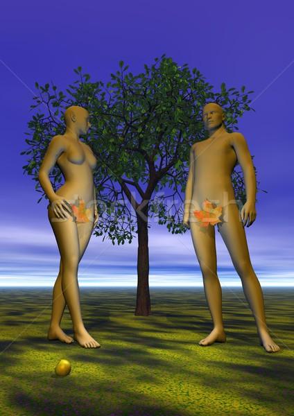 Adam and Eve Stock photo © Elenarts