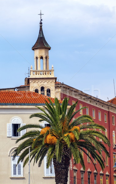 Stock photo: Saint Franje, Francis, church near the old Market Square, Split, Croatia