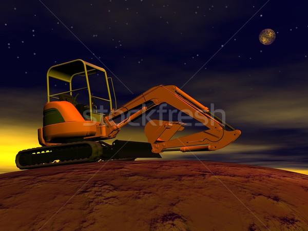 Excavator Stock photo © Elenarts