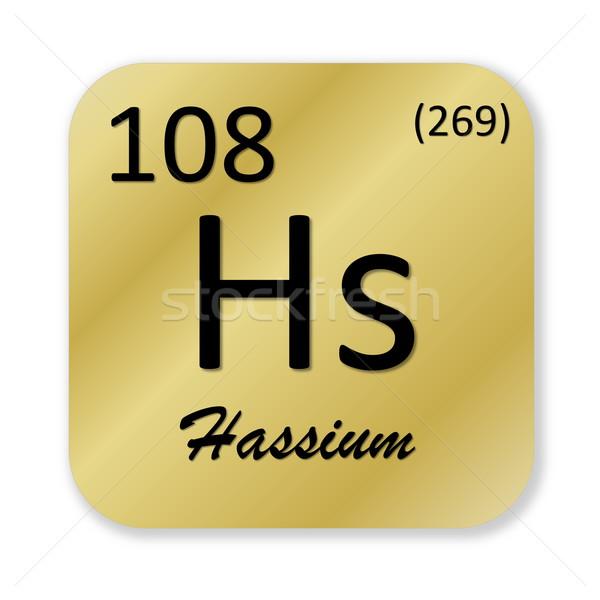 Hassium element Stock photo © Elenarts