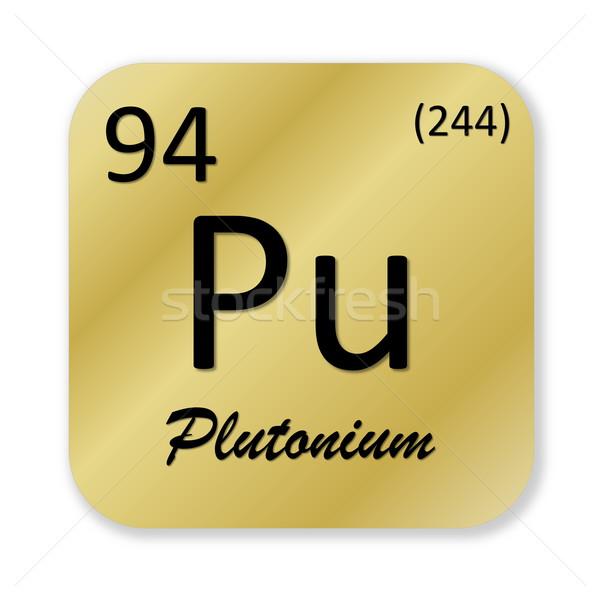 Plutonium element Stock photo © Elenarts