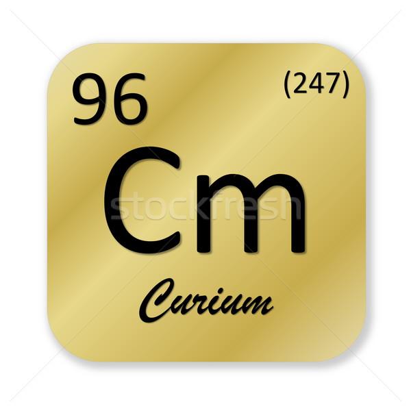 Curium element Stock photo © Elenarts