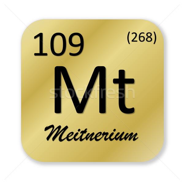 Meitnerium element Stock photo © Elenarts