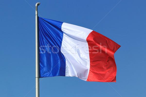 French flag Stock photo © Elenarts