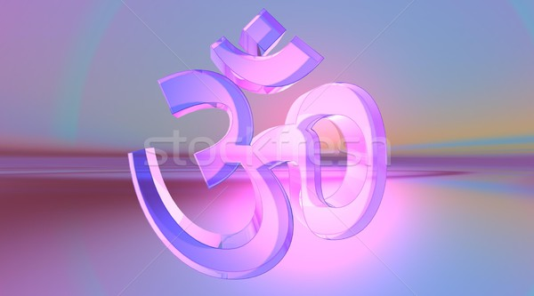 Transparent aum / om Stock photo © Elenarts