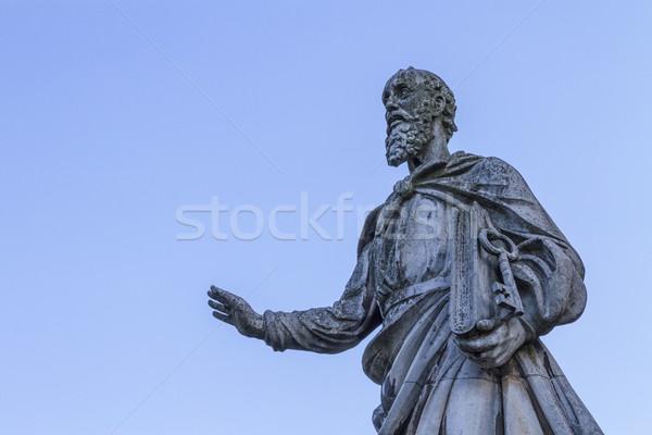 Сток-фото: статуя · базилика · Венгрия · здании · искусства