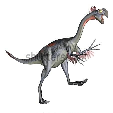 Gigantoraptor dinosaur - 3D render Stock photo © Elenarts