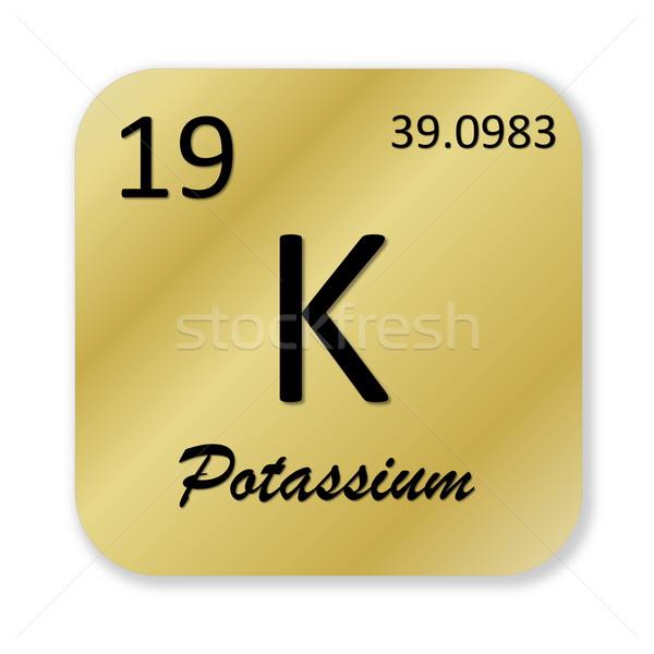 Potassium element Stock photo © Elenarts