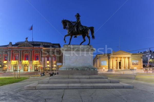 Ogólny posąg opera muzeum miejsce Zdjęcia stock © Elenarts