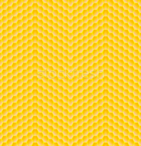 Seamless pattern of honeycomb Stock photo © Elenarts