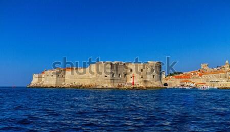 Dubrovnik old city on the Adriatic Sea, South Dalmatia region, Croatia Stock photo © Elenarts