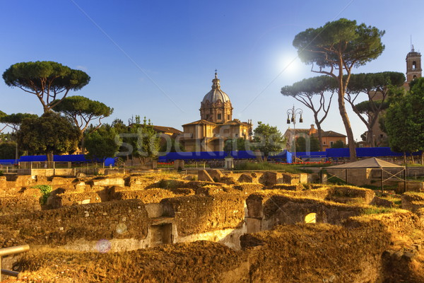Roman forum, Roma, Italy Stock photo © Elenarts