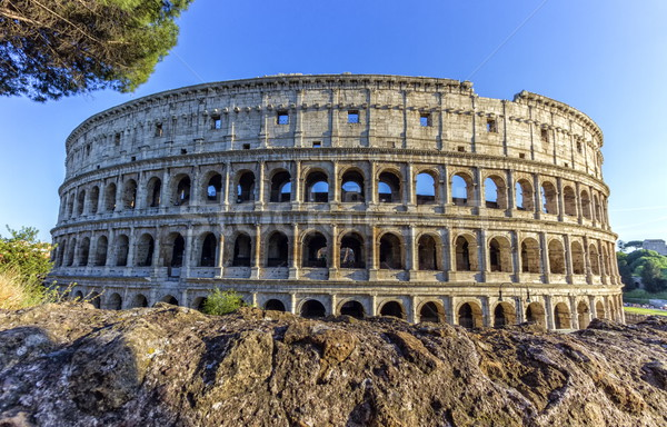 Coliseum, Roma, Italy Stock photo © Elenarts