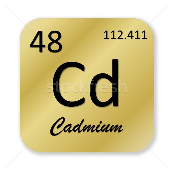 Cadmium element Stock photo © Elenarts