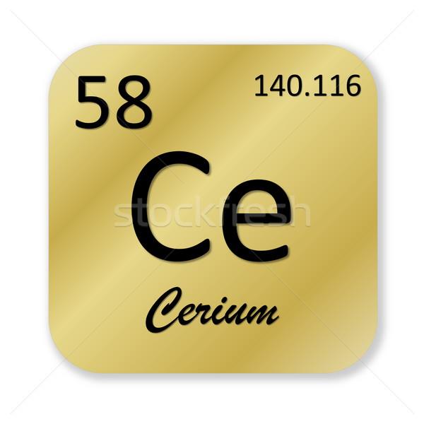 Cerium element Stock photo © Elenarts