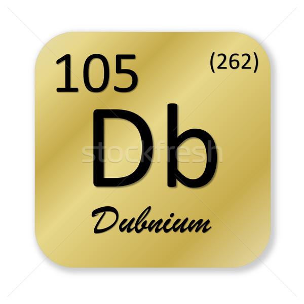 Dubnium element Stock photo © Elenarts