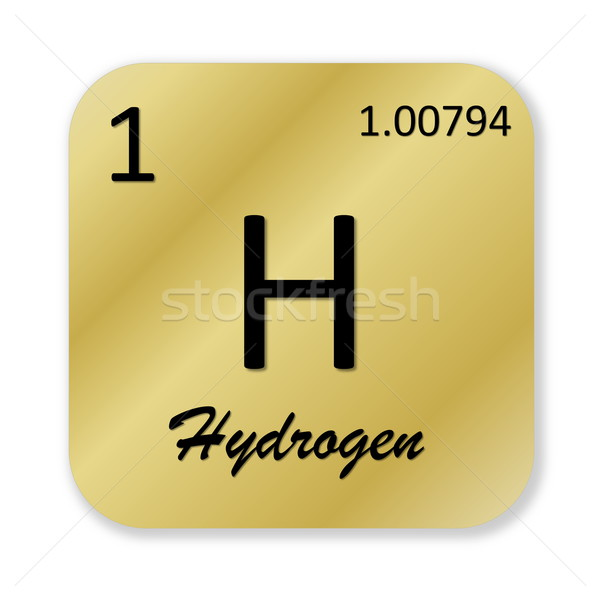 Hydrogen element Stock photo © Elenarts