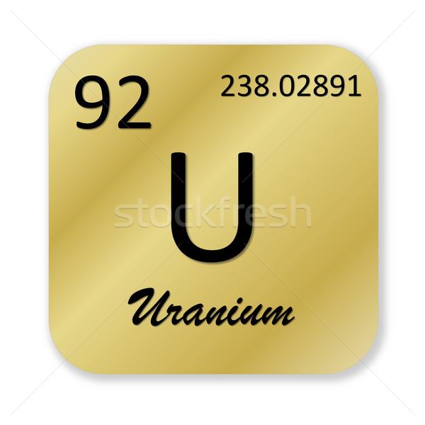 Uranium element Stock photo © Elenarts