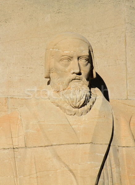 John Knox, reformation wall, Geneva, Switzerland. Stock photo © Elenarts