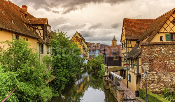 Little Venice, petite Venise, in Colmar, Alsace, France Stock photo © Elenarts