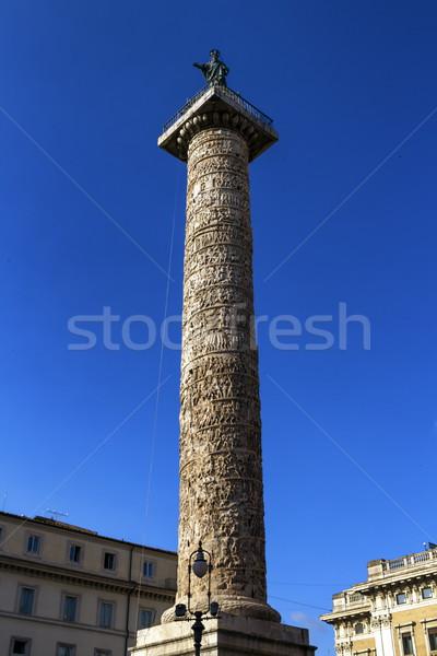 Trajan's Column, Rome, Italy Stock photo © Elenarts